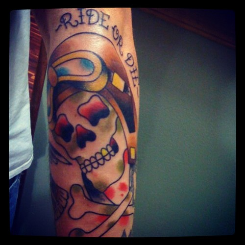 Ride or die by michael c kennedy iii dead serious for Ride or die tattoo