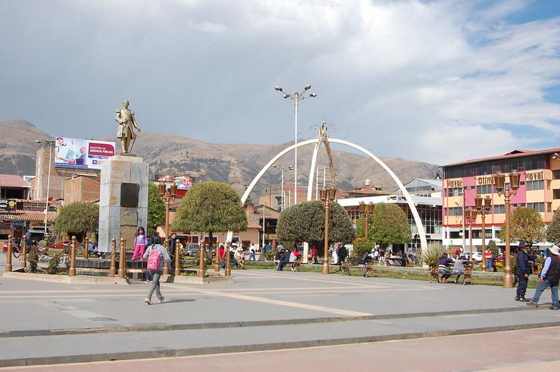 Plaza de la Constitución, Huancayo, Junín, Peru