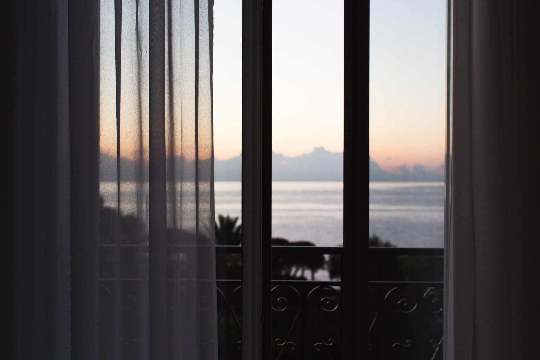 Sunrise in Cap-Ferrat