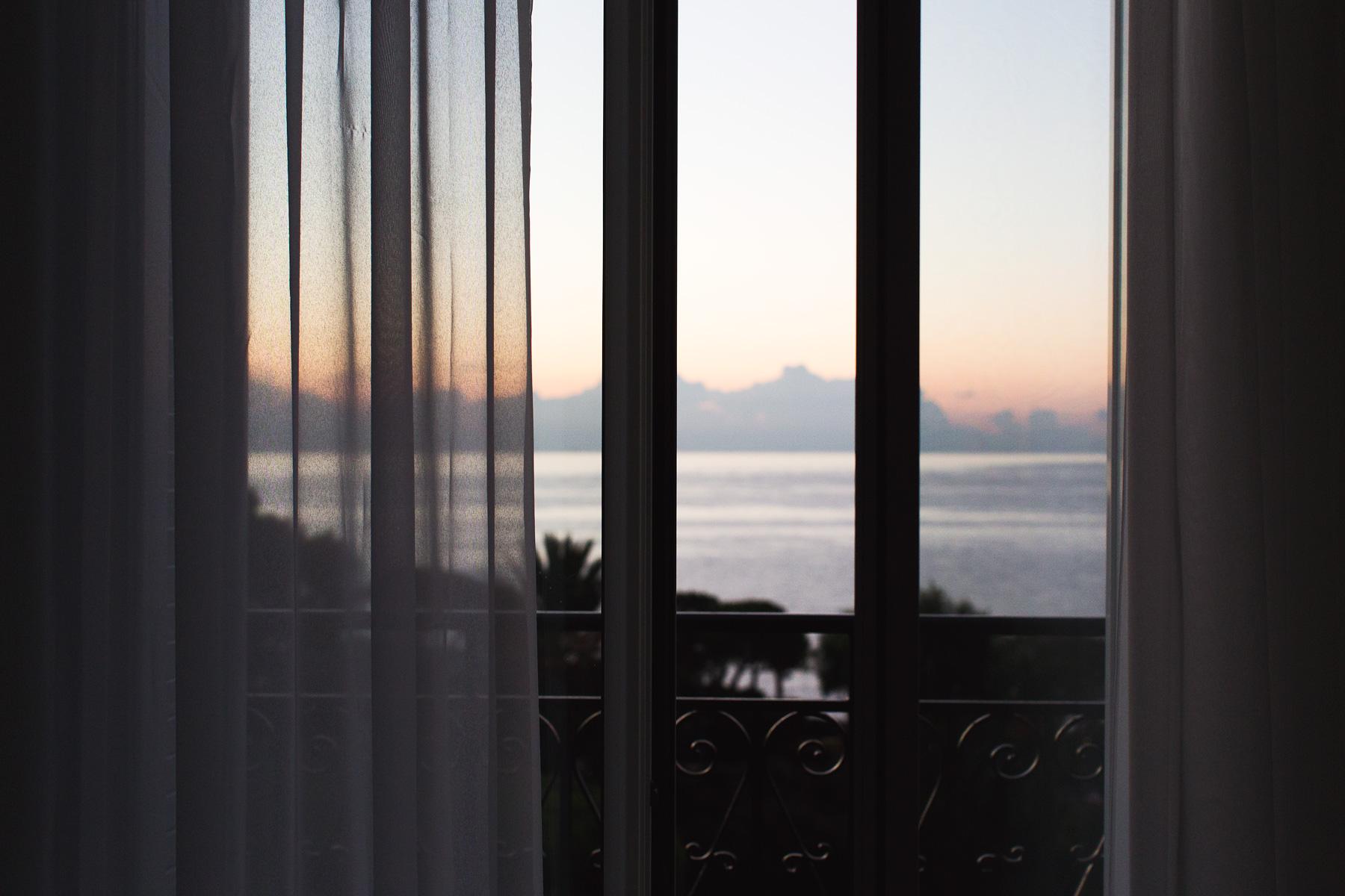 Sunrise in Cap-Ferrat