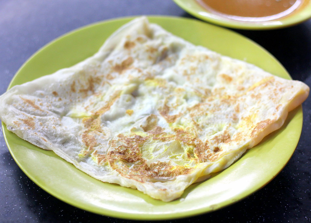 Supper Spots in the West: Niqqi's Cheese Prata Shop Egg Prata