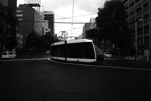 Tramcars at Sapporo on JUL 19, 2016 (7)