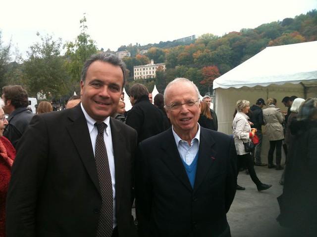 Denis Broliquier et Thierry Rolland