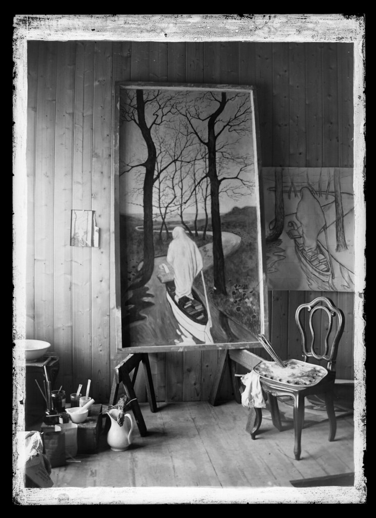 Hugo Simberg's Studio Space, 1899