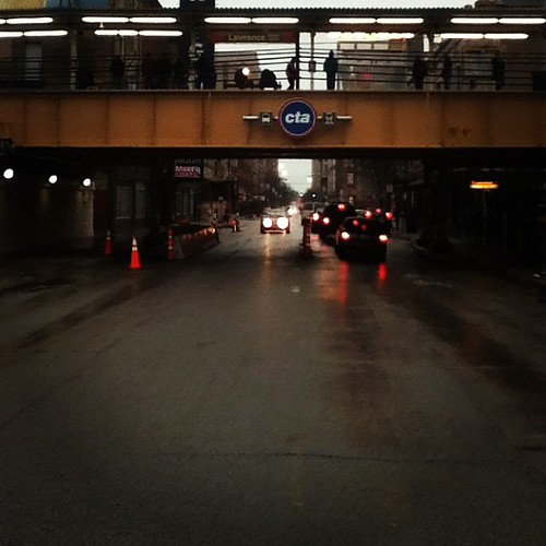 Cta Lawrence is open. | by drew*in*chicago