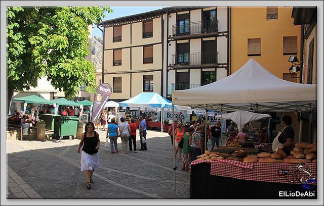Poza de la Sal, Feria de Artesanía y Alimentación y Combates medievales (1)