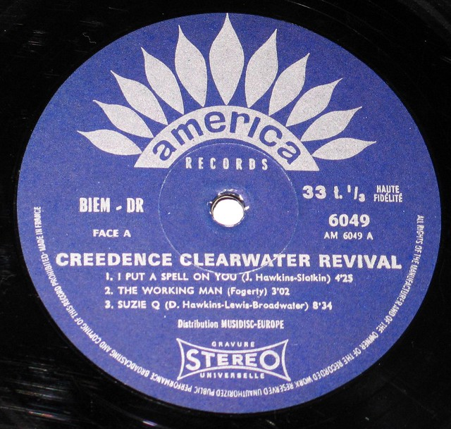 Creedence Clearwater Revival self-titled Fantasy France