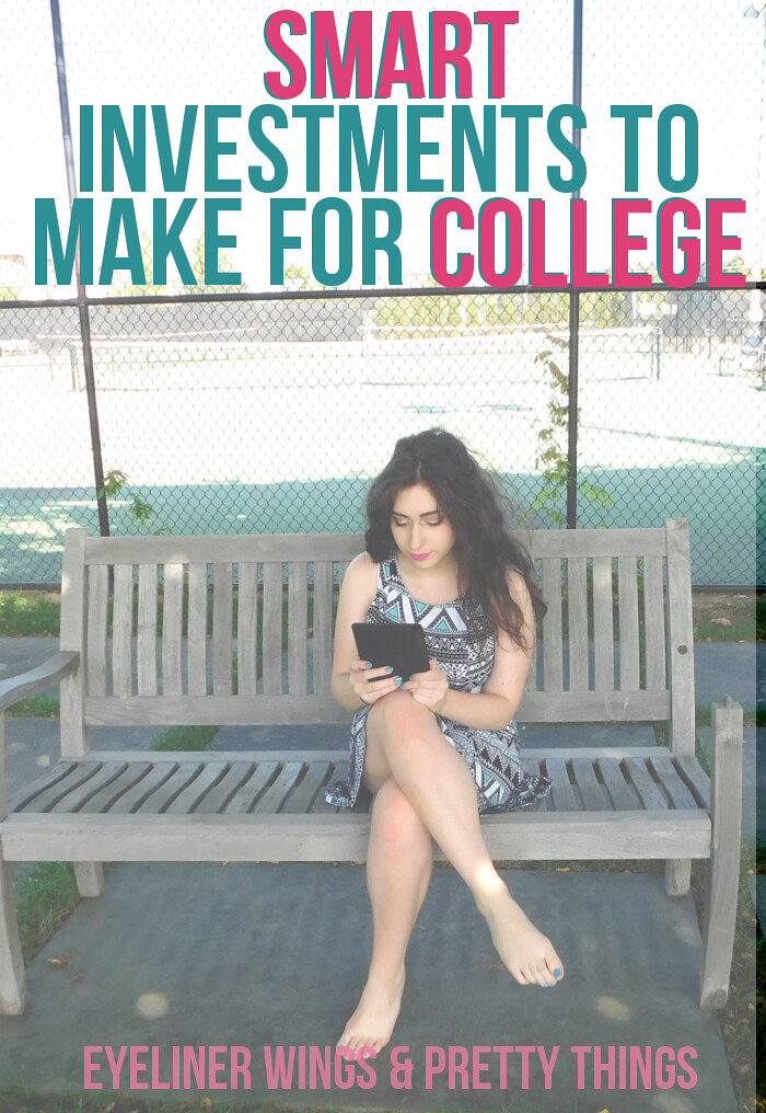 8 Smart Investments for College Students // eyeliner wings & pretty things