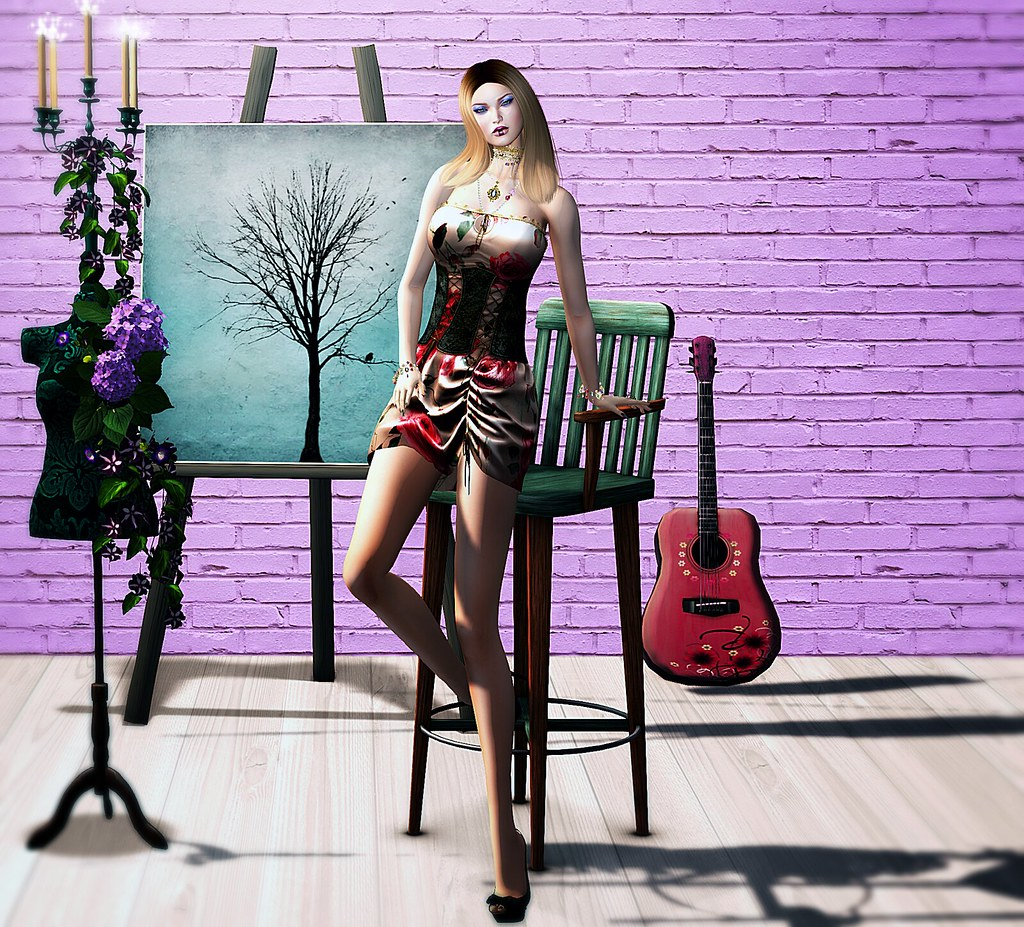 My Hestro-Look : PurpleMoon Creations, Psycho:Byts, Chop Zuey, Kaerri