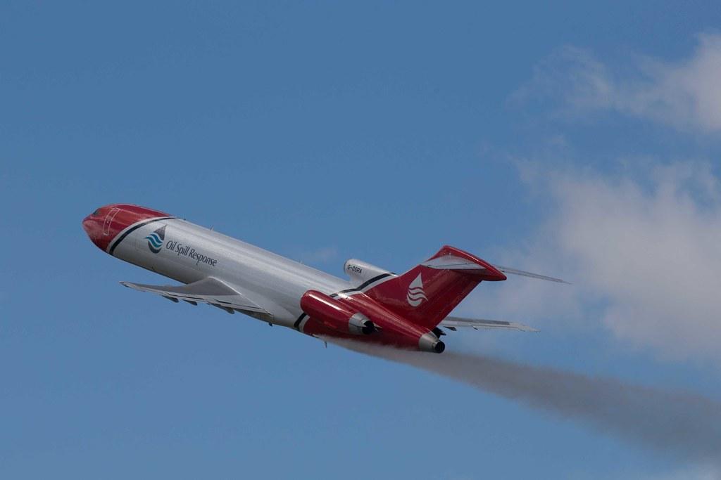 Oil Spill Response Boeing 727 (G-OSRA)