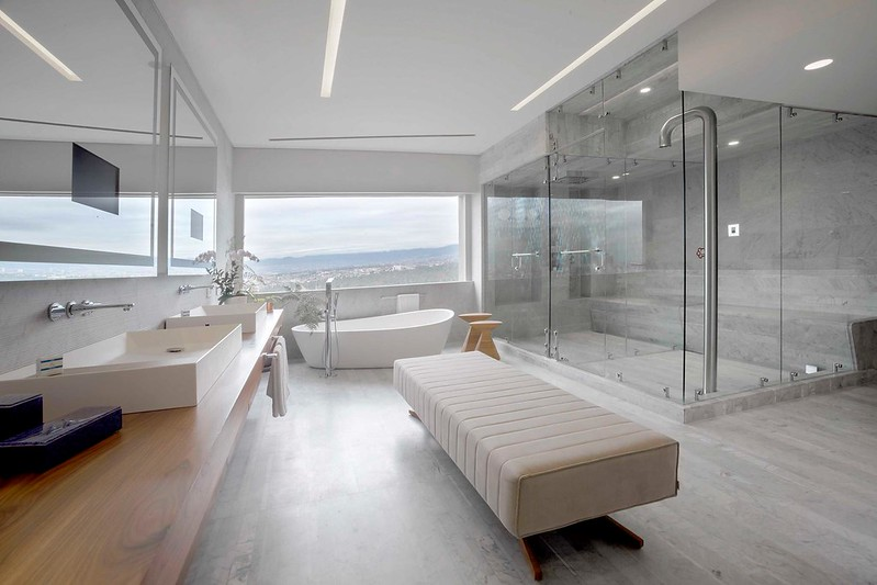 Bathroom in the Presidential Suite at the InterContinental Mexico City