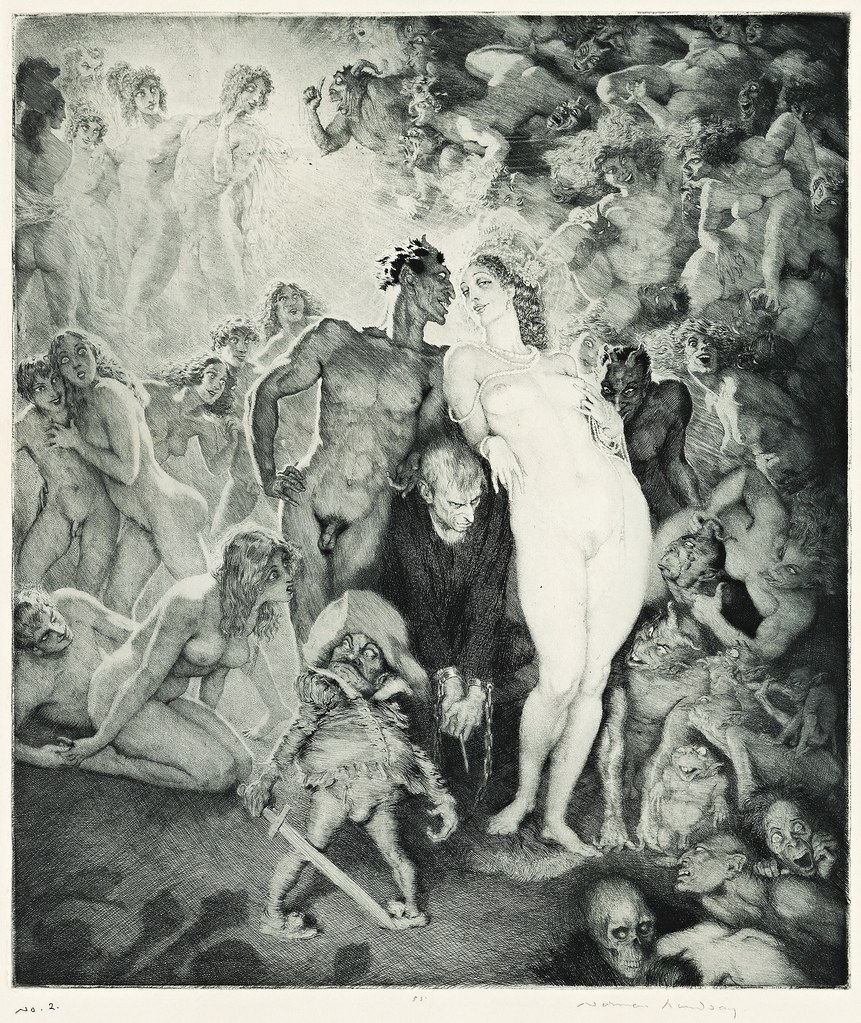 Norman Lindsay - Self-portrait, 1930