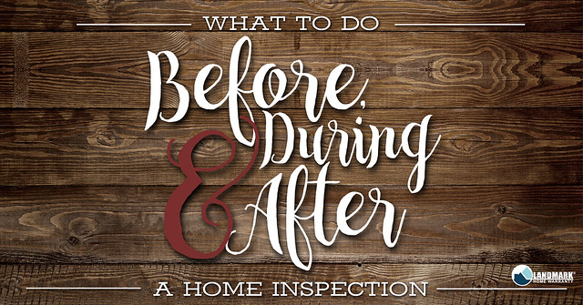 Before During and After a Home Inspection Header