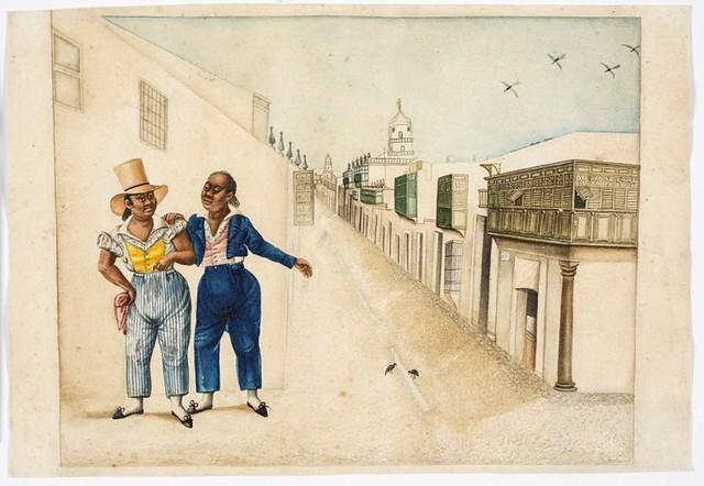 Juan José Cabezudo y un amigo, Francisco Javier Cortés