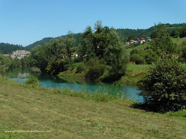Wandern an der Krusnica