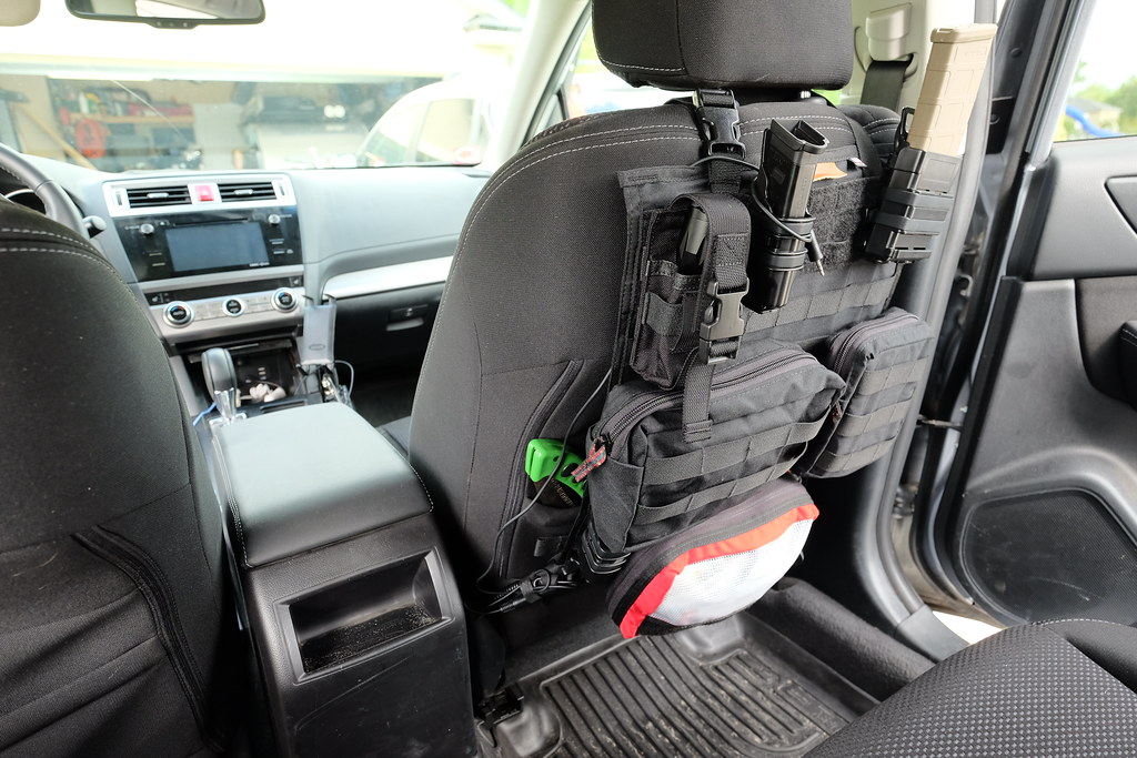 Got My New Molle Seat Panels In Subaru Outback Subaru