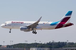 Eurowings Airbus A320-214(WL) cn 7259 F-WWIO // D-AEWM