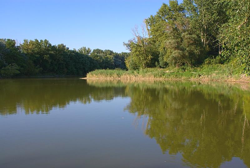 Floodplains scenery