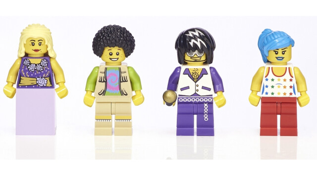LEGO Minifigure Collection Toys R Us - Musicians minifigs