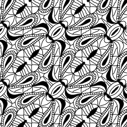 Pattern created in iOrnament