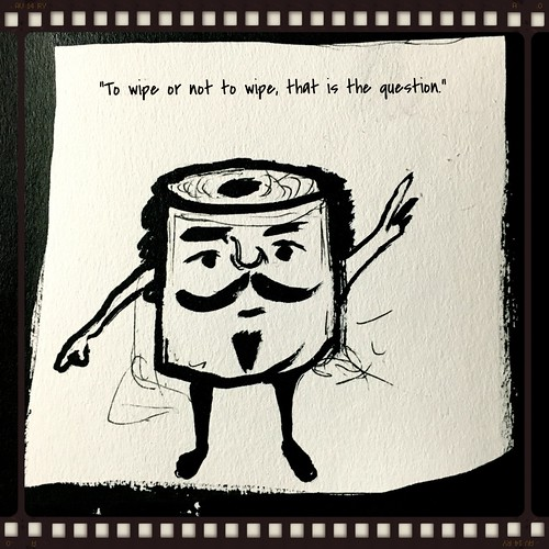 To wipe or not to wipe...