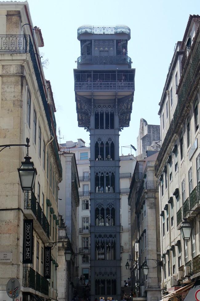 Lisbona - Elevador de Santa Justa
