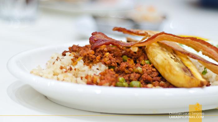 Chelsea Kitchen Megamall Arroz a la Cubana