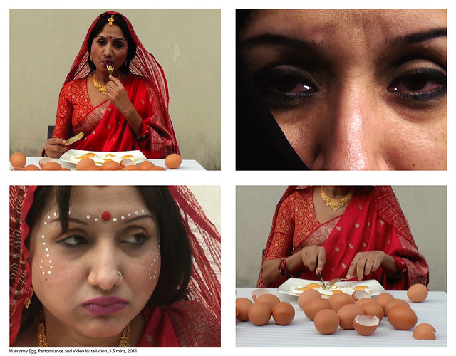 Marry my Egg_Video Installation_2011