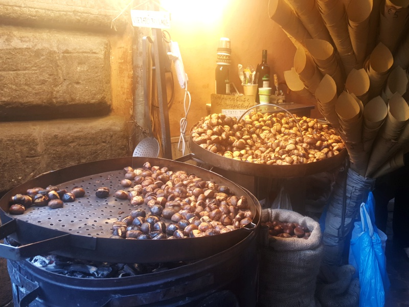 chestnuts in Rome