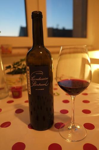 Rotwein vom Château La Condamine Bertrand
