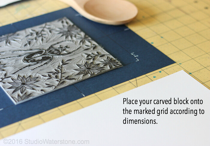 Simple Solutions: Relief Print Registration