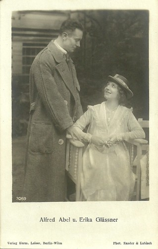 Alfred Abel and Erika Glässner