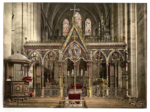 [Cathedral choir screen, Hereford, England]  (LOC) | by The Library of Congress