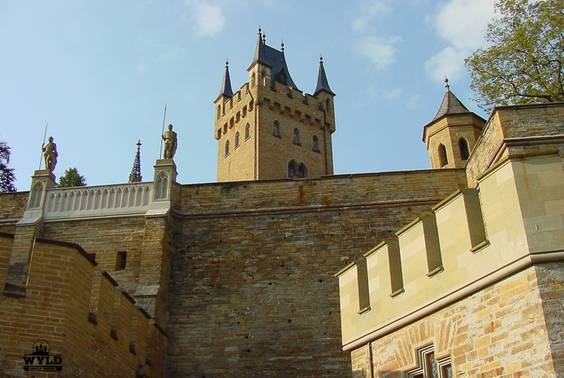 Castle Hohenzollern walls