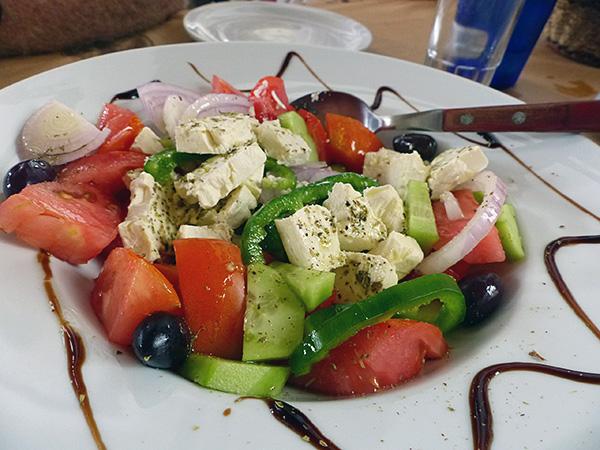 salade grecque du metaxi mas