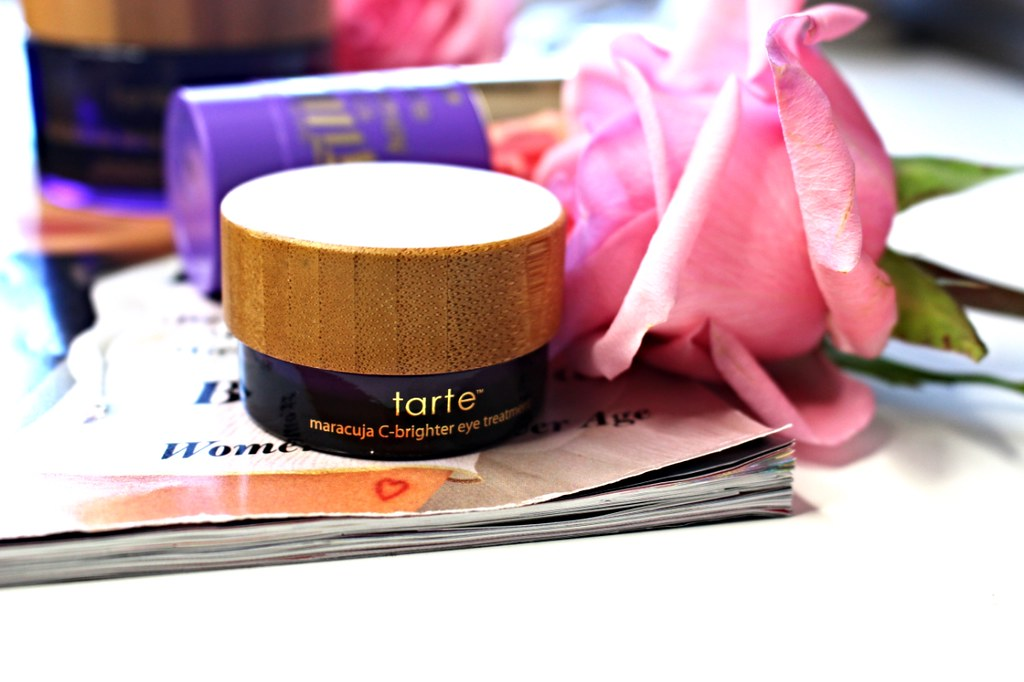 Tarte skin care, Tarte skin, Tarte skin care products, FRXXXTION Stick Exfoliating Cleanser, Tarte Rainforest of the Sea™ Drink Of H2O Hydrating Boost, Maracuja C Brighter Eye Treatment, Maracuja Neck Treatment, Tarte skin care products, best skin care products, Tarte, skin care made by Tarte, Tarte skincare, Brighten, Tighten and Hydrate the Skin