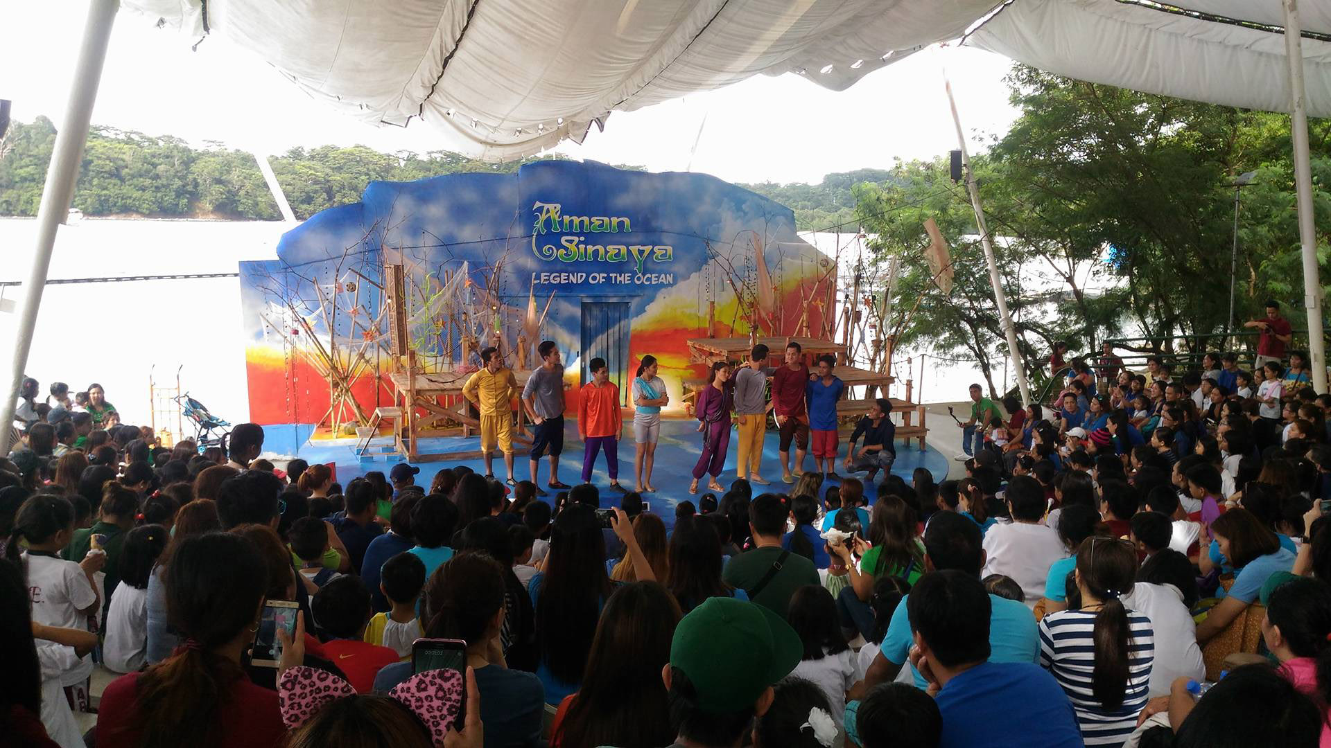 Subic Ocean Adventure Aman Sinaya Legend of the Ocean play