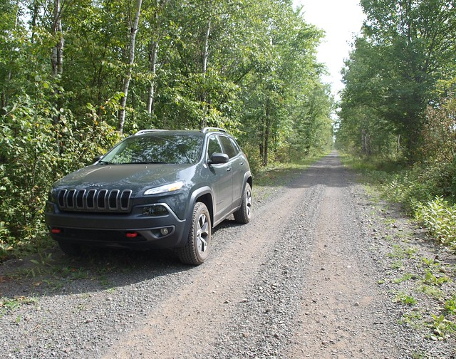 2016 Jeep Cherokee Trailhawk Gone Gandy Dancing