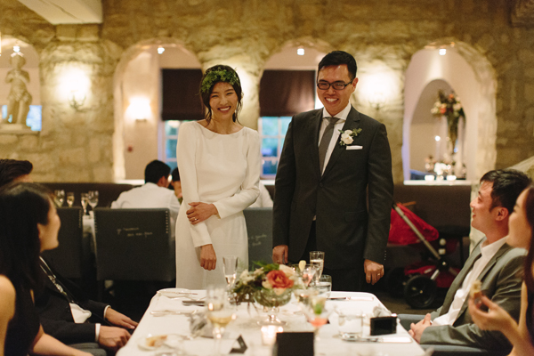 Celine Kim Photography Auberge du Pommier romantic intimate restaurant Toronto fall wedding-71