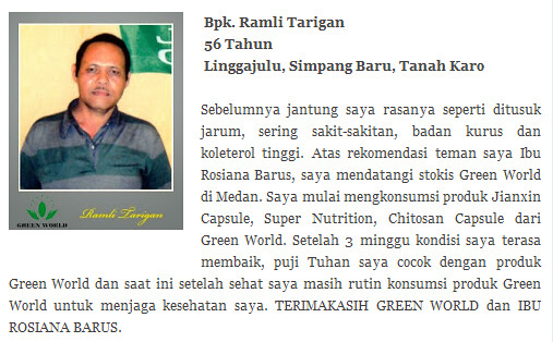 Harga Asli Jian Xin Capsule Green World