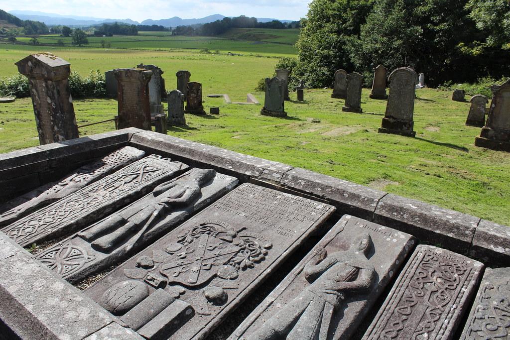 Kilmartin medieval Sculptured Stones, Argyll, Scotland