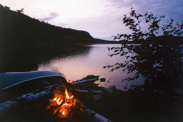 1988 Campfire and Canoe George Lake Killarney