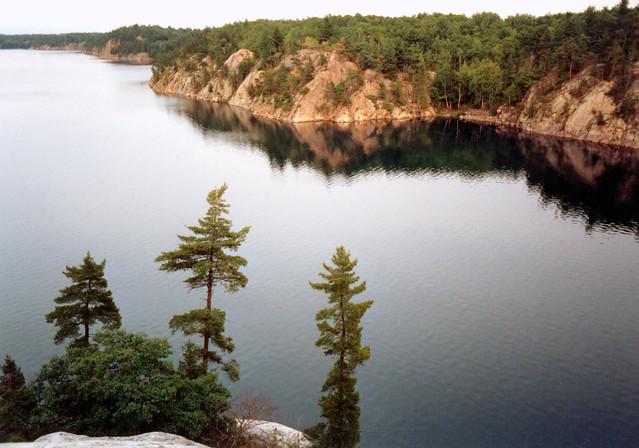 1988 Overlooking George Lake Killarney