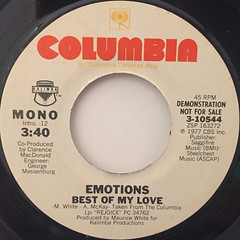 EMOTIONS:BEST OF MY LOVE(LABEL SIDE-A)