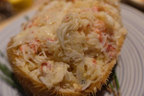 北海毛蟹浜茹で horsehair crab