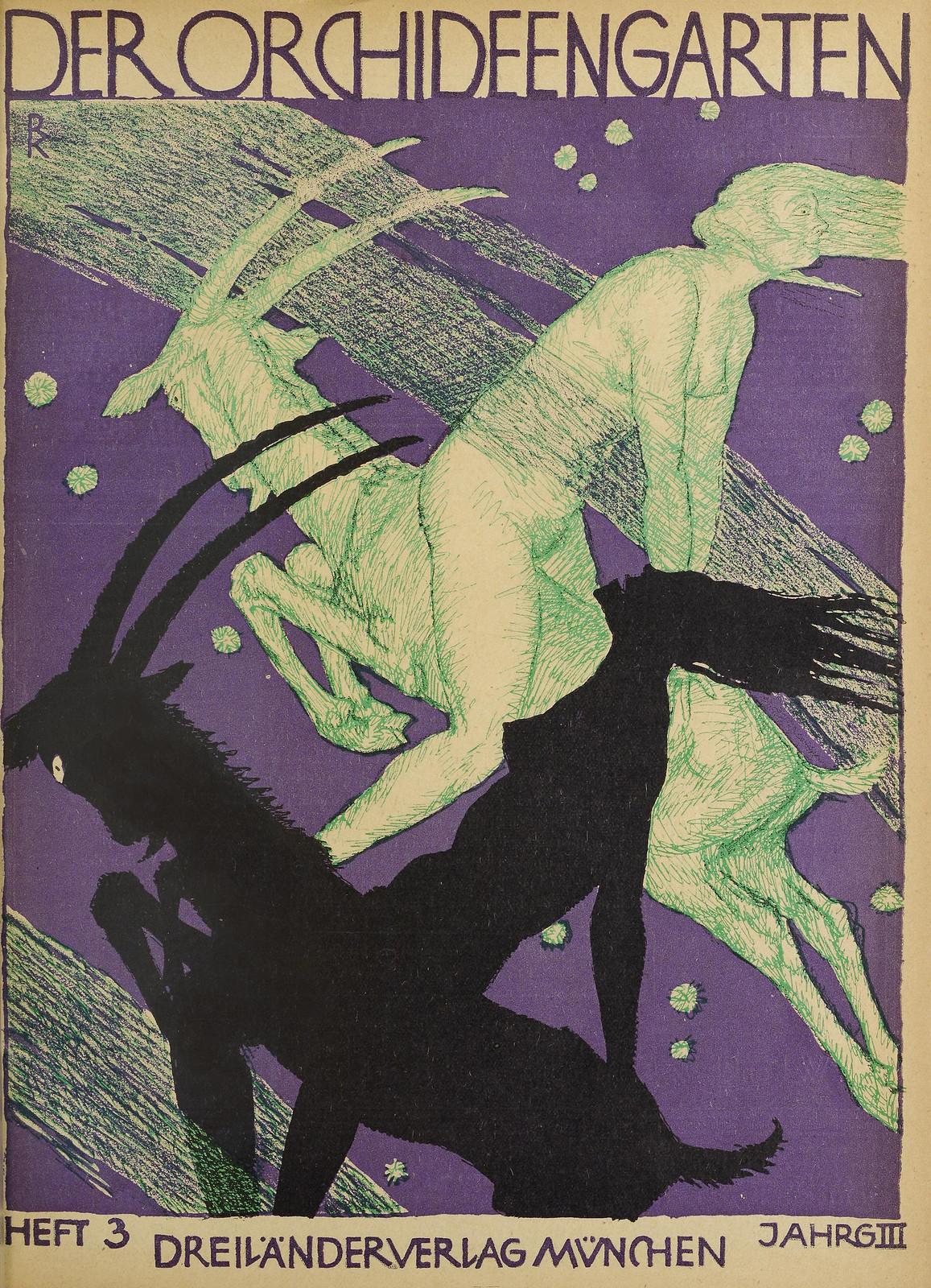 Der Orchideengarten - 1921 (Cover 3)