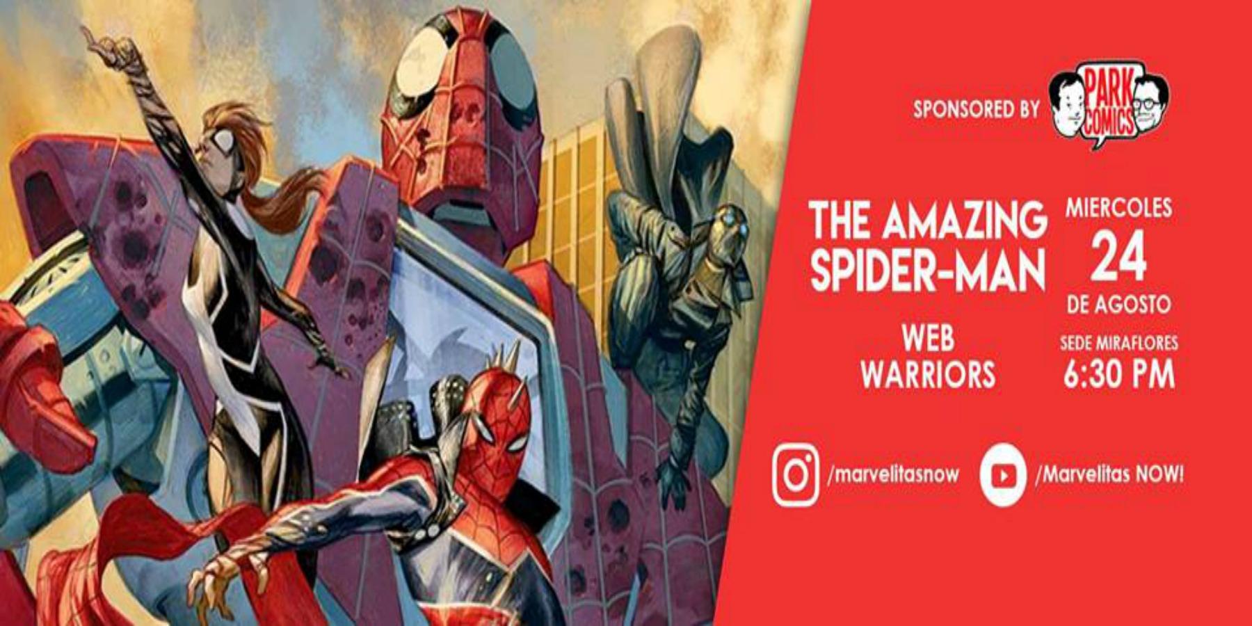 Spider Man Web Warriors | ICPNA de Miraflores