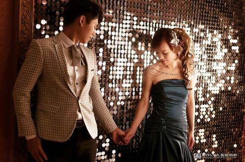 [高雄婚紗推薦]Kiss九九為我和歐爸拍出唯美又韓風的婚紗照 (1)