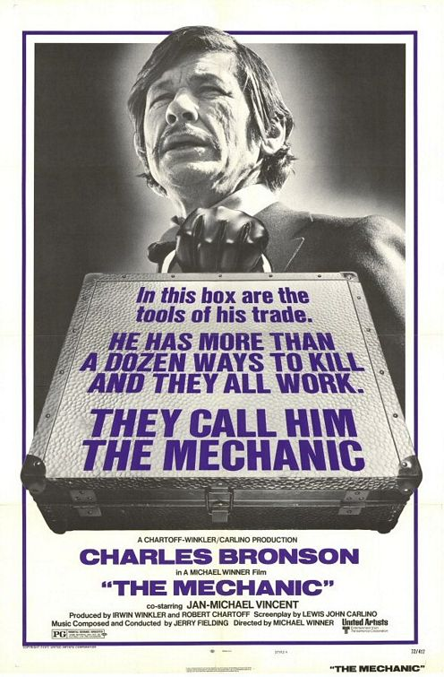 The Mechanic - 1972 - Poster 1