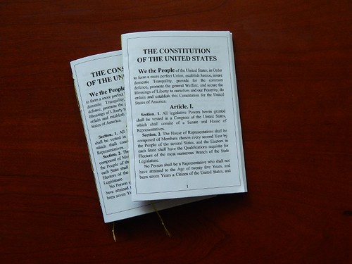 Pocket U.S. Constitution